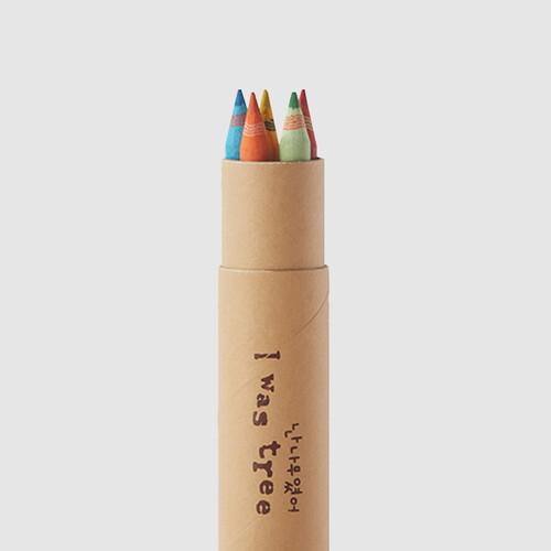 [더사랑 보킷] 친환경문구 재생종이 색연필 (5pcs)