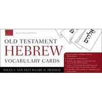 Old Testament Hebrew Vocabulary Cards, 2d Ed.