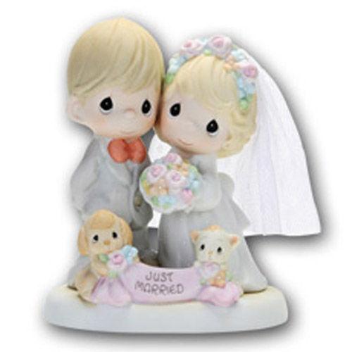 [프레셔스모먼트]우리 결혼 했어요 도자기 인형/인테리어/결혼선물