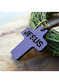 Cross & Jesus 목걸이(투각)-A