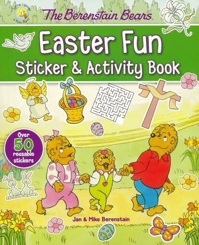Berenstain Bears Easter Fun Sticker and Activity Book (PB)