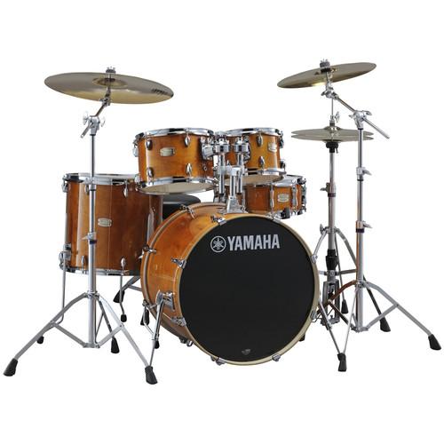 야마하 뉴 스테이지 커스텀 버찌 드럼