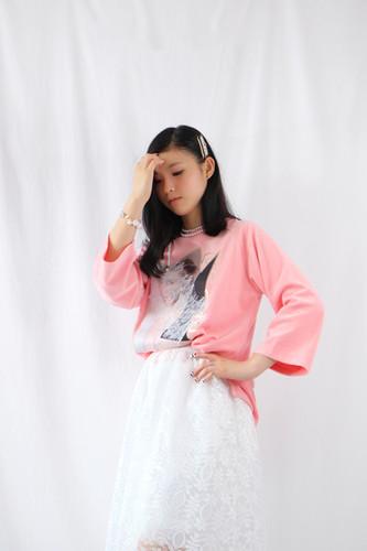핑크벨벳 7부티셔츠