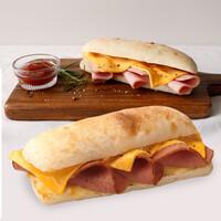 온맘푸드 성기훈 집사가 만든 킹즈 치아바타 햄치즈 샌드위치 (163g x 5개입)